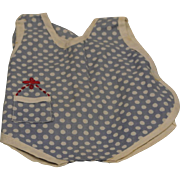 """Vintage Effanbee Patsy 7"""" Sunsuit & Bonnet"""