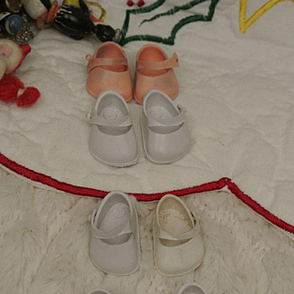 3 Pair Vintage Ginnette Marked Shoes