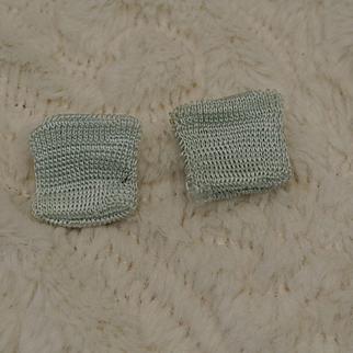 Near Mint Light Blue Ginny Socks