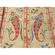Important lot of tapestry borders, French 19th century