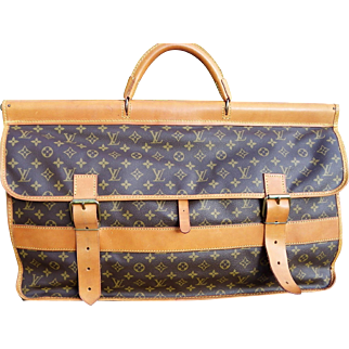 Exceptional Vintage Louis Vuitton Monogram Gibier Hunting Travel