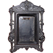 Antique picture frame Napoleon III gutta percha