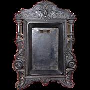 Antique picture frame Napoleon III gutta percha