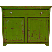Painted Pine Side Cupboard