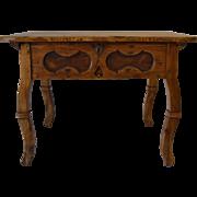 Pine Baroque Revival Centre Table