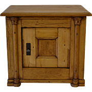 "Pine ""Safe"" Cupboard"