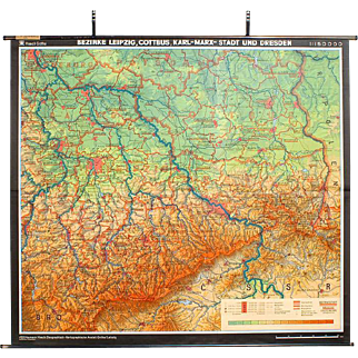 East German Map