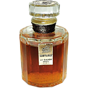 Vintage 1950 Le Galion Parfum by Parfum Sortilege France 1/2 oz