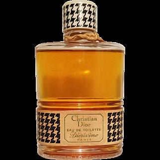 """Vtg Parfum Christian Dior Rare """"Diorissimo"""" 1956 Eau de Toilette 4oz France"""
