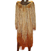 Organza Vintage Long Fringed Cover Shawl Toga