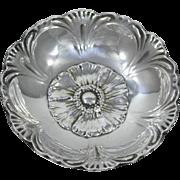 Reed & Barton Sterling Silver Floral Bowl, Circa 1935