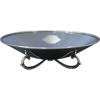 Wallace Sterling Silver Bowl, Modernist