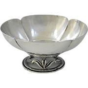 Randahl Sterling Silver Footed Bowl, Chicago Arts & Crafts