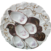 Turkey Oyster Plate
