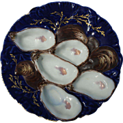 Turkey Oyster Plate - Haviland Limoges