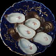 Turkey Oyster Plate - Haviland Limoges