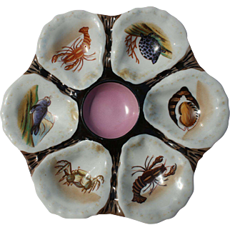 Sea Creature Oyster Plate