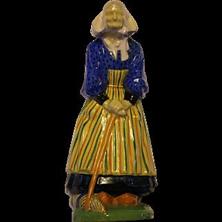 Nicot figure - Elderly Bretonne Lady