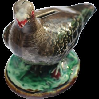 Pigeon Majolica Bank