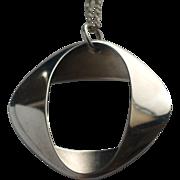 Henning Koppel for Georg Jensen Sterling Silver Pendant