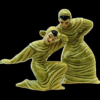 Ceramic Arts Studios Bruce & Beth Figurines