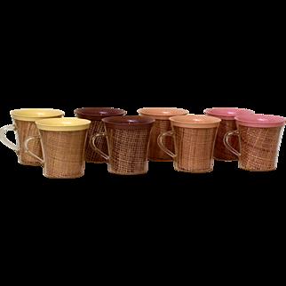 Raffiaware Picnic Mugs