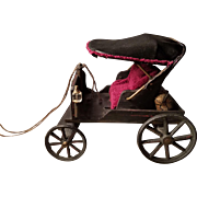 Vintage Carriage Buggy Great Antique Doll Accessory!