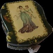 Beautiful Antique Celluloid Vanity Box