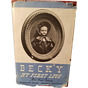 Becky My First Love Vintage Doll Book
