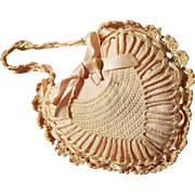 Pretty Little Heart Shaped Crocheted Pin Cushion