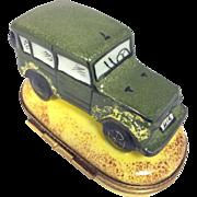 Limoges 4x4 Safari Trinket Box- Retired Design