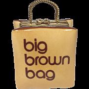 Limoges Porcelain Trinket Box-RETIRED-FAMED Bloomingdales Big Brown Bag