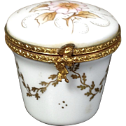 VERY RARE La Seynie Limoges Porcelain Trinket Box