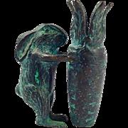 Vintage Cast Iron Bunny Rabbit