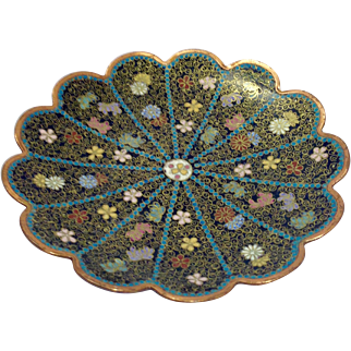 Early 19th Century Cloisonné Dish