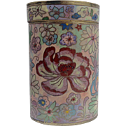 19th Century Chinese Cloisonné Tea Box/Container