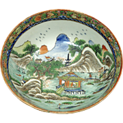 Stunning Antique Chinese (early 19th Century) Porcelain Bowl-Incredible Detail