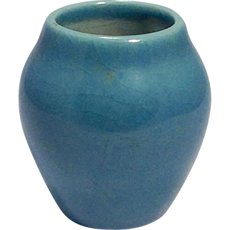 c1946 Rookwood Blue Small Vase
