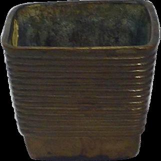 Japanese Bronze Tea Ceremony Cup