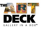 "The Art Deck, ""Gallery in a Box"" ® logo"