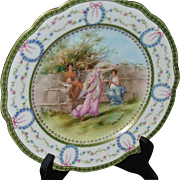 Decorative Sevres Plate with Roman Scene as originally painted by the Italian Artist, Andrea Appiani