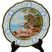 Decorative Sevres Plate with Roman Scene as originally painted by the Italian Artist, Andrea Appiani - Red Tag Sale Item