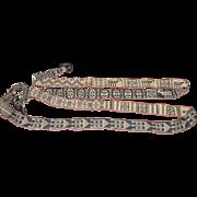 Turkmen Hand-Woven Kilim Camel Saddle Cinch