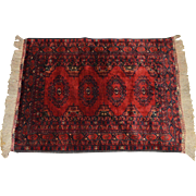 Afghan Bashir Hand Knotted Rug made in Pakistan