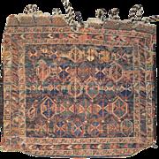 Wonderful Turkmen Wool Camel Bag
