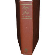 "1931 Edition of ""Leaves of Grass"" By Walt Whitman, Aventine Press"