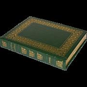 """""""Politics & Poetics"""" by Aristotle Leather Bound Book"""