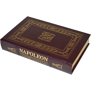 """Napoleon"" by André Castelot, Leather Bound Book"