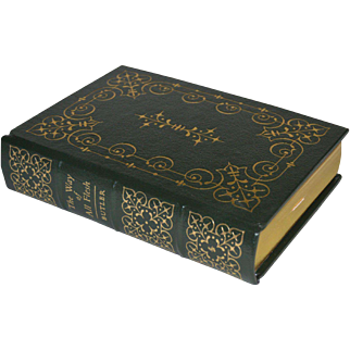 """The Way of All Flesh"" by Samuel Butler, Leather Bound Book"