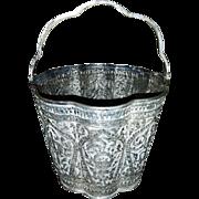 "Ice Bucket & Tongs ""Pure Silver"" (足银 zúyín)"